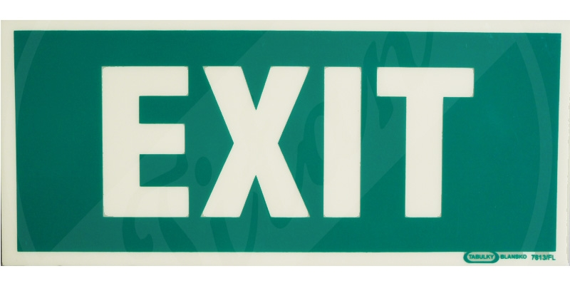 Tabulka exit
