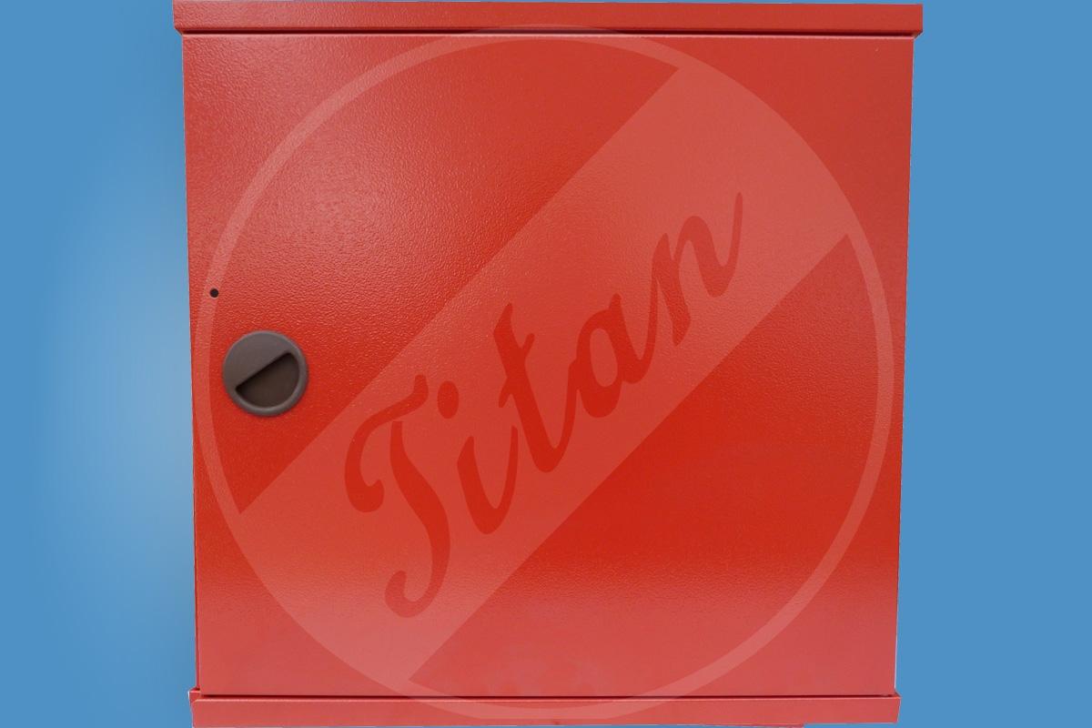 Hydrantová skříň D25 zavřená