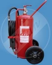 pojízdný hasicí přístroj P50