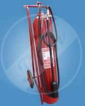 pojízdný hasicí přístroj S30