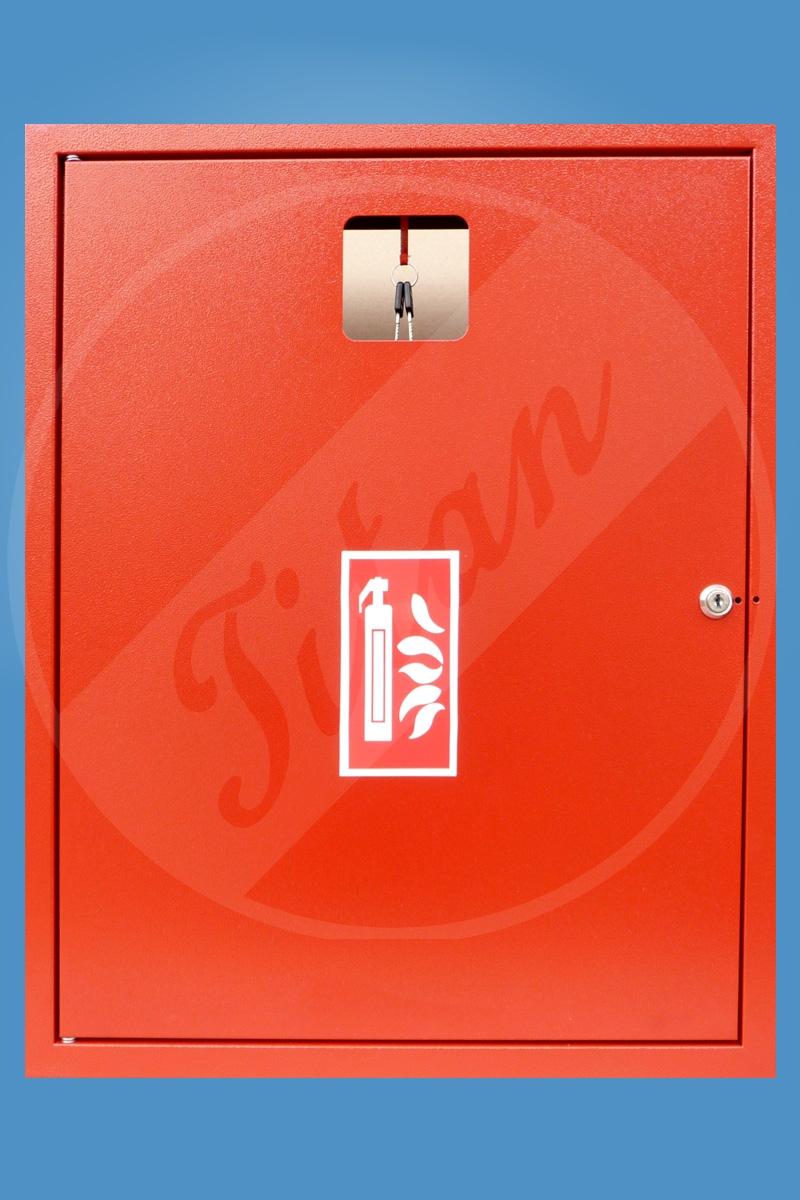 Skříňka na hasicí přístroj 2x6P nebo 2x9V