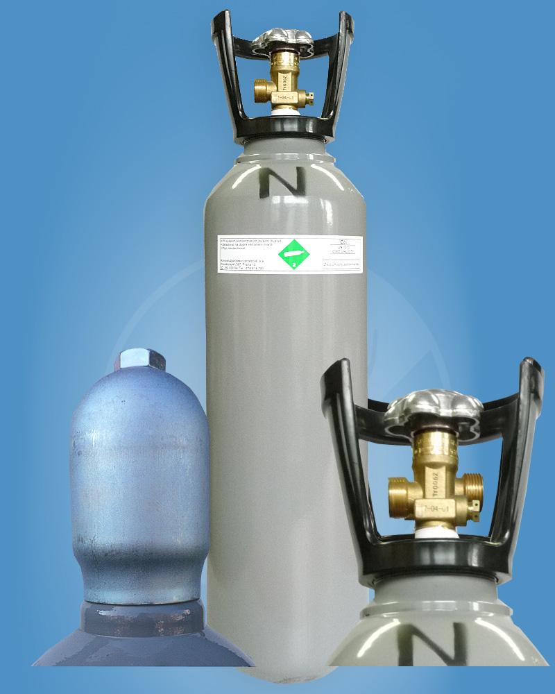 CO2 6kg s ochranným límcem