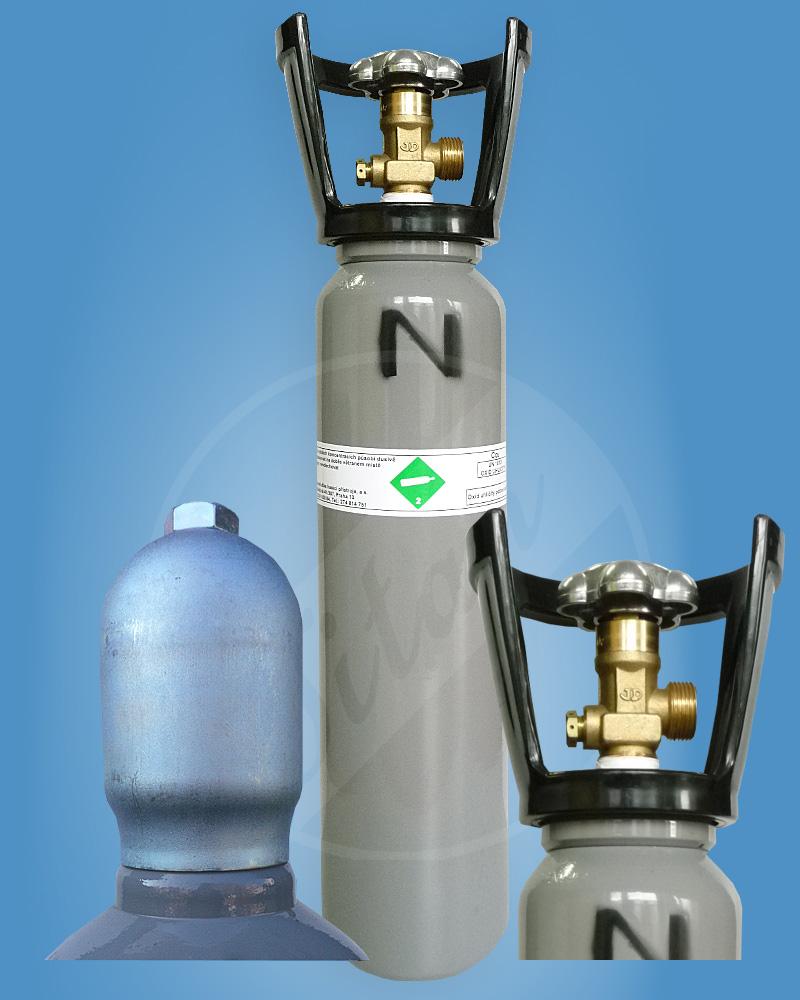 CO2 2kg s ochranným límcem